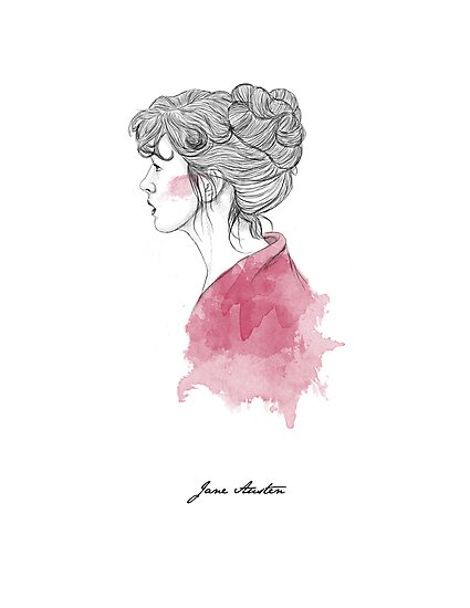 Jane Austen by Paradoxthis