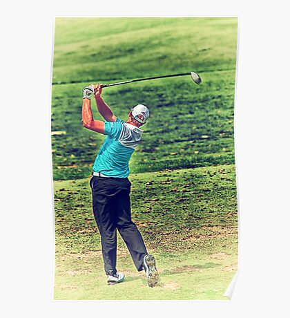 The Golf Swing Poster