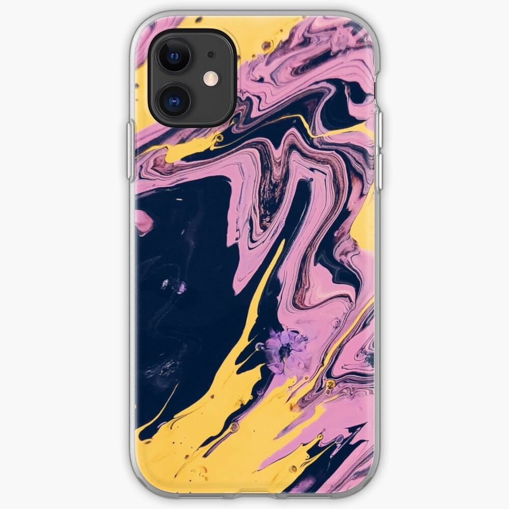 Abstract pink phone case iPhone Case & Cover