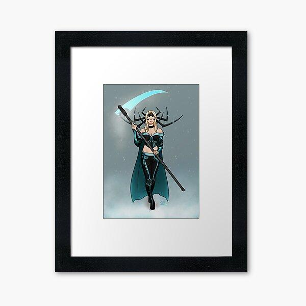 Hela Frost -MCOC Champion Mash Up Framed Art Print