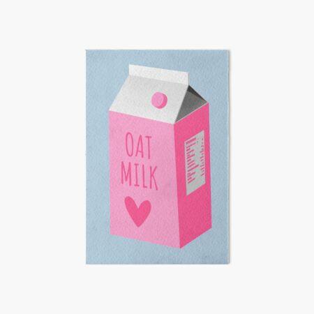 Oatmilk Art Board Print