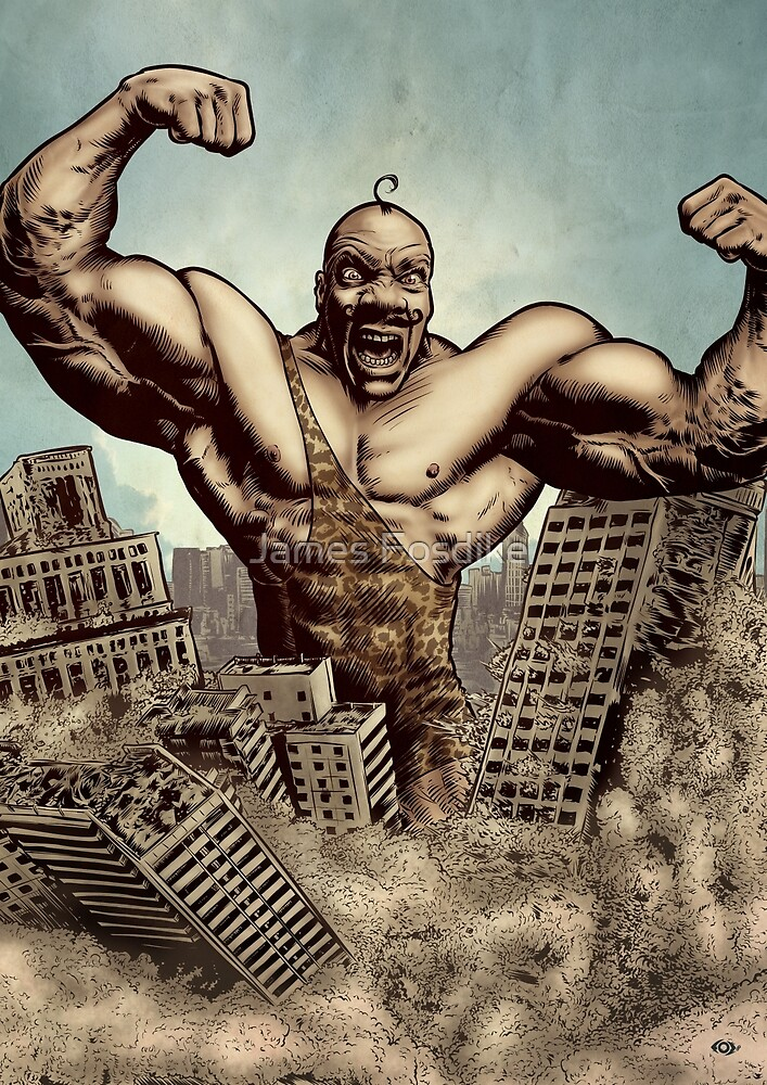 Strongman! by James Fosdike