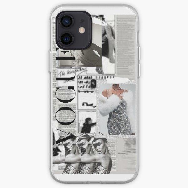 Vogue News Collage Coque souple iPhone
