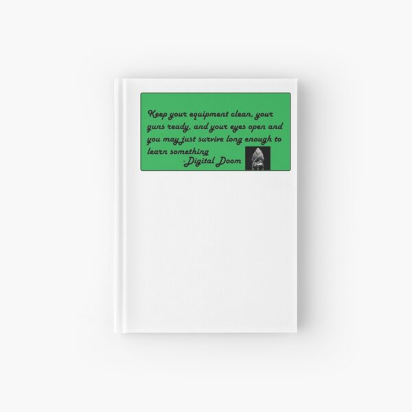 Survive Long Enough Hardcover Journal