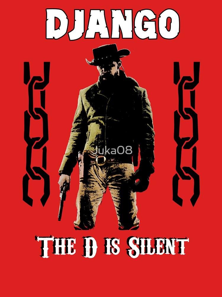 DJANGO THE D IS SILENT | Unisex T-Shirt