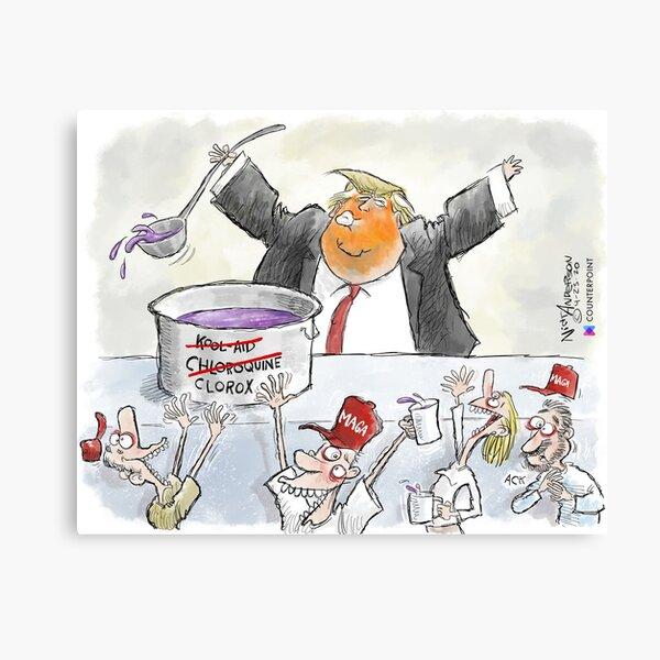 The Trump Cult Canvas Print
