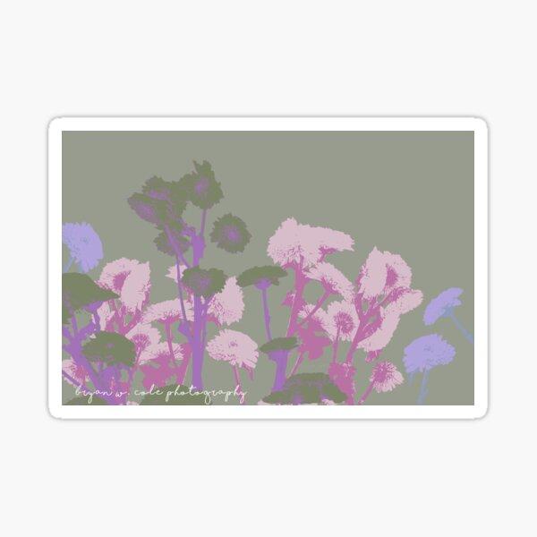 Chrysanthemums in Pastels #11 Sticker