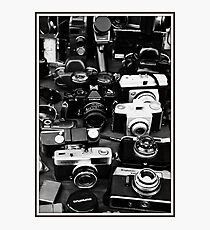 Vintage Camera's   Photographic Print