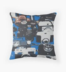 Vintage Camera's   Throw Pillow