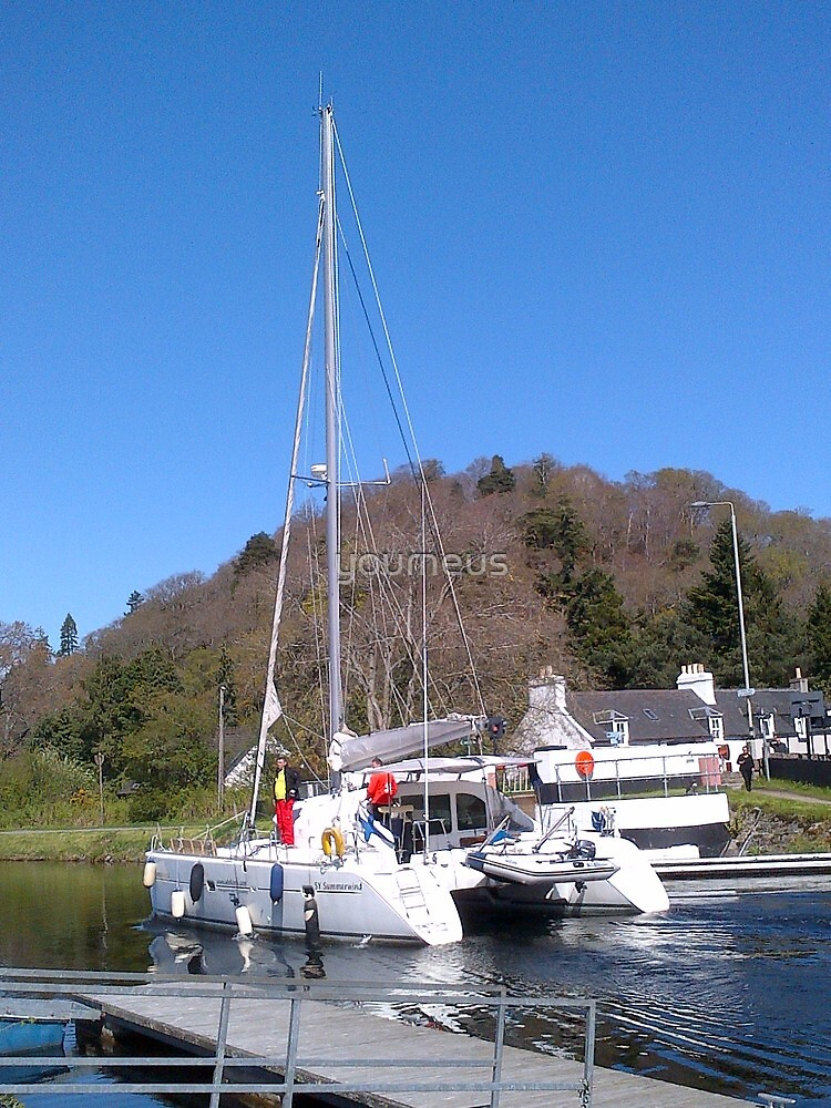 Caledonian Canal Inverness Loch Ness by youmeus