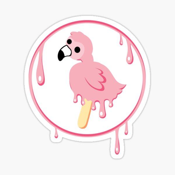Melt Flamingo Sticker