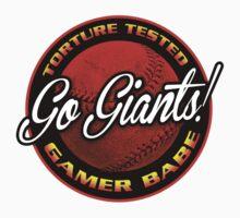 Giants Gamer Babe   Unisex T-Shirt