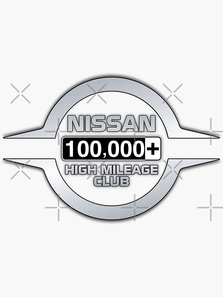 Nissan High Mileage Club - 100,000+ Miles by brainthought