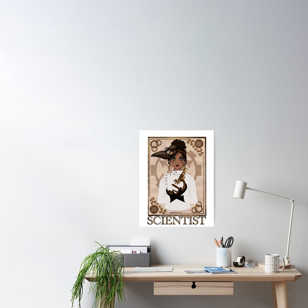 Scientist (STEAMpunk Art) Poster