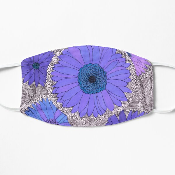 Gerbera Daisy- Purple Mask