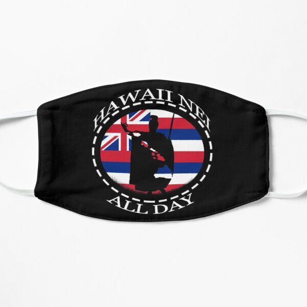 The Rising Sun King Kamehameha by Hawaii Nei All Day Mask