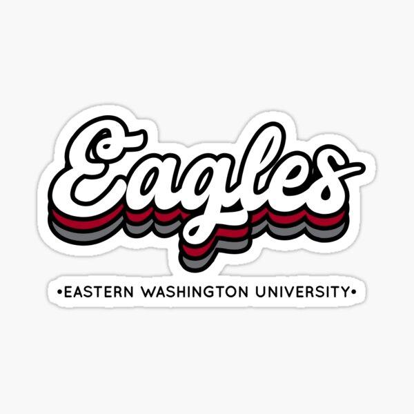 Eagles - Eastern Washington University Sticker