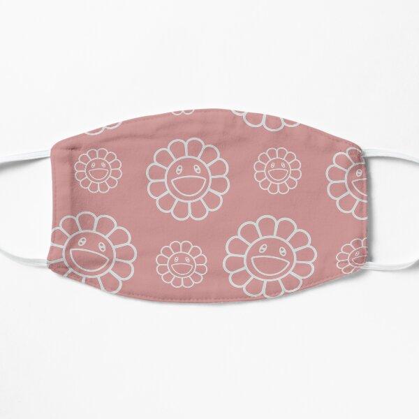 Hobicore hobi flower pattern peach jhope smile murakami  Mask