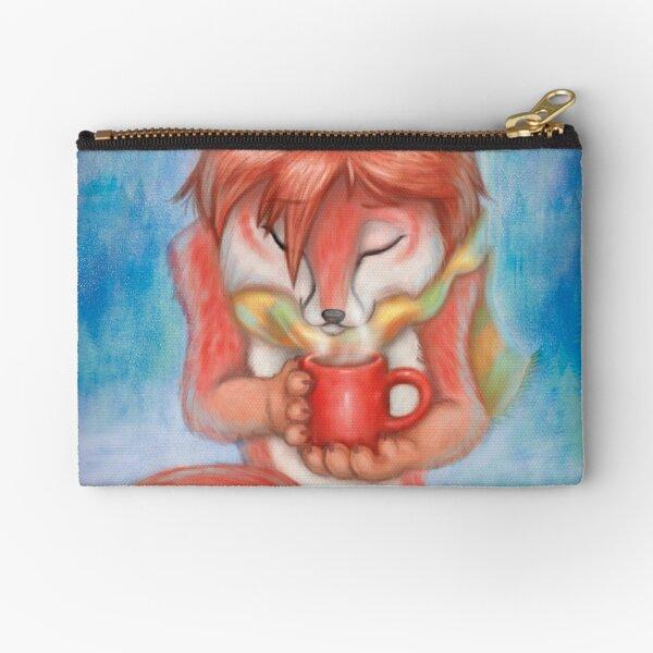Fox'n tea Zipper Pouch