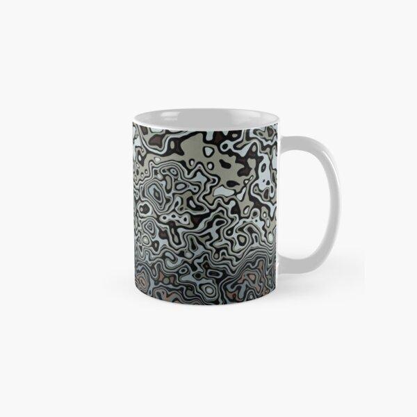 Urban Camouflage Black Brown Grey Classic Mug
