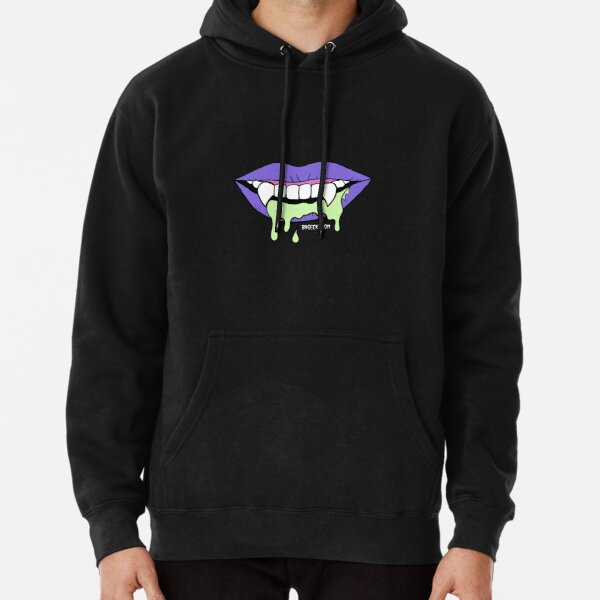 Sour Fangs Mouth Pullover Hoodie