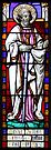 Stained Glass - St Alban by David W Bailey