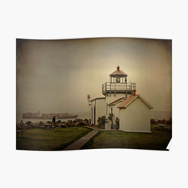 Point No Point Lighthouse Poster