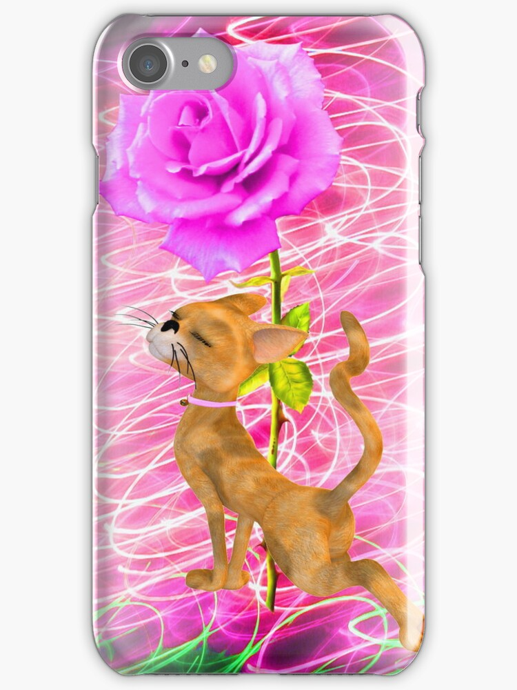 Sweet Rose Abstract by Delights