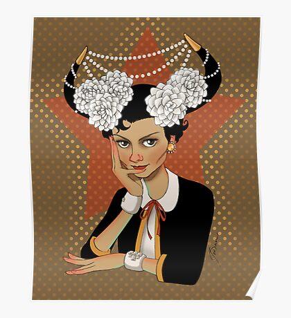 Chanel: the Little Black Bull Poster