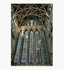 The Five Sisters Window in York Minster Photographic Print