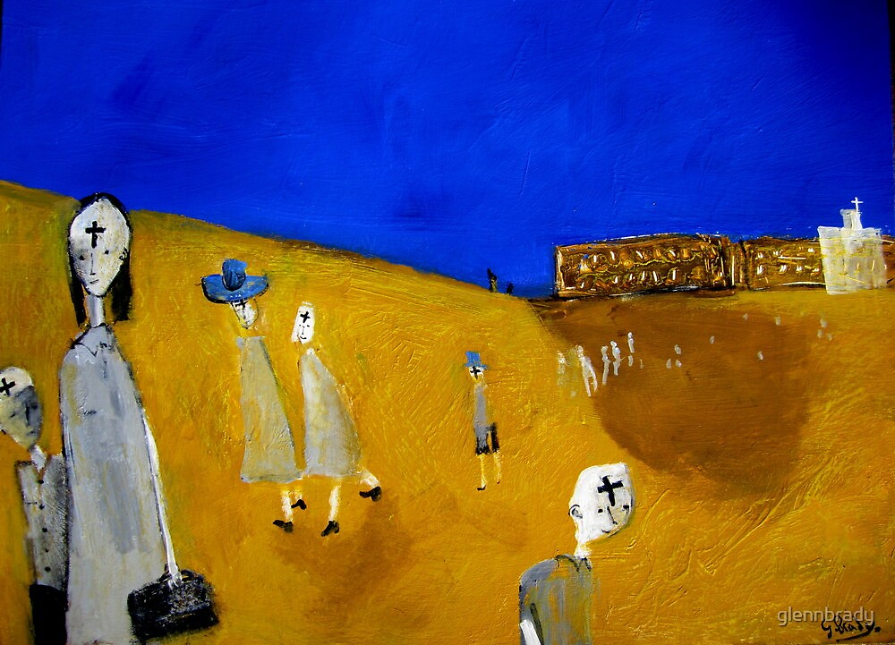 catholic schoolkids..(ash wednesday) by glennbrady