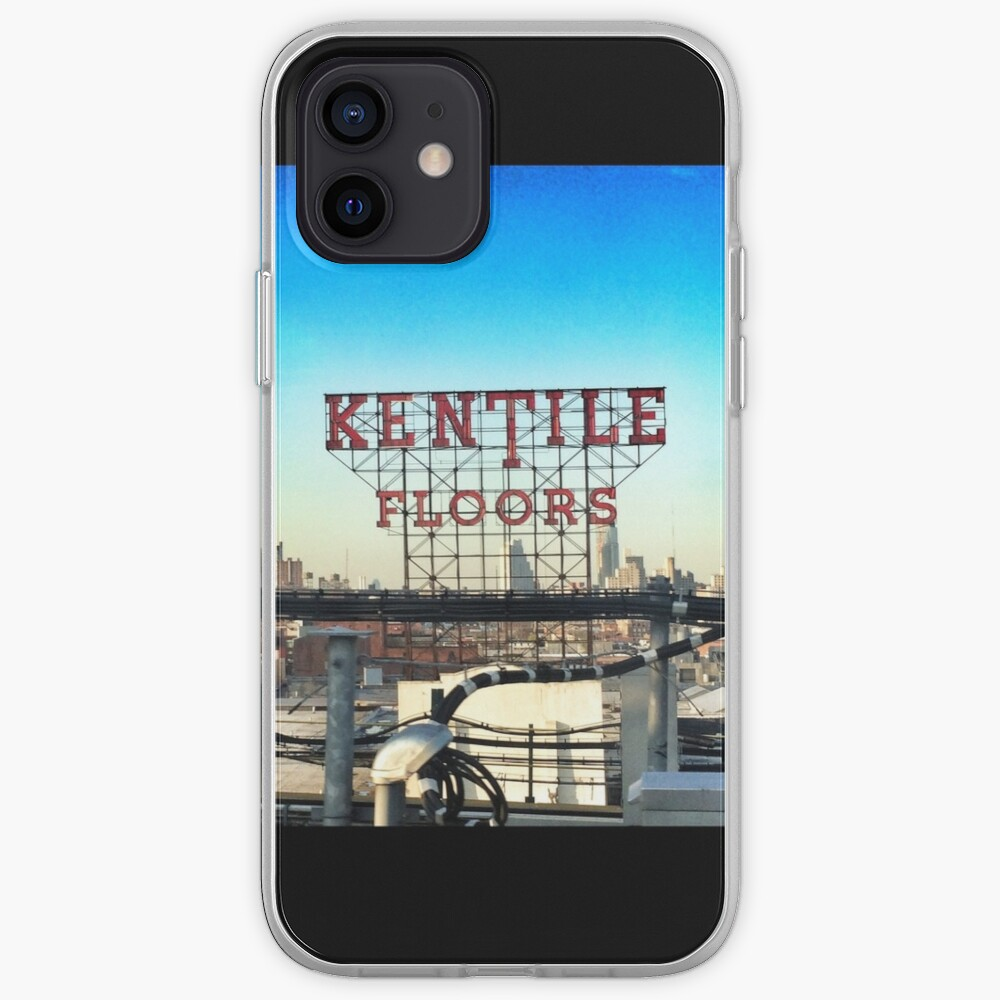 Kentile Floors - Downtown Brooklyn Skyline Photography by OneDayOneImage - Brooklyn Lovers  iPhone Case & Cover
