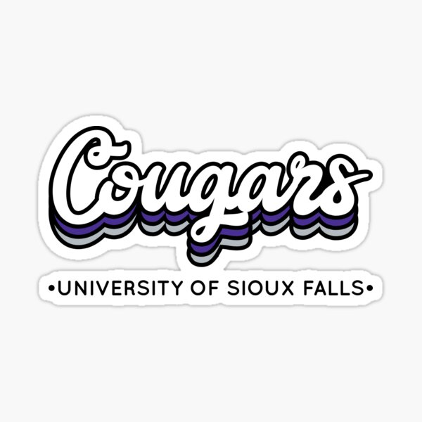 Cougars - University of Sioux Falls Sticker
