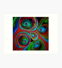 From Inside A Box of Crayons Art Print