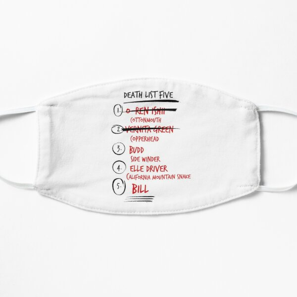 Kill Bill -- The Brides Death List 5 Mask