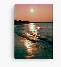 Streaming Sunlight Canvas Print