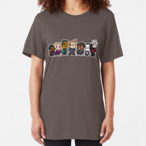 Pixel Community Slim Fit T-Shirt