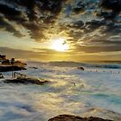 Fury at Maroubra by Mark  Lucey