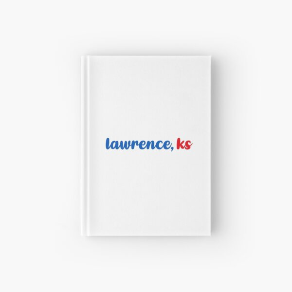 Lawrence Kansas Hardcover Journal