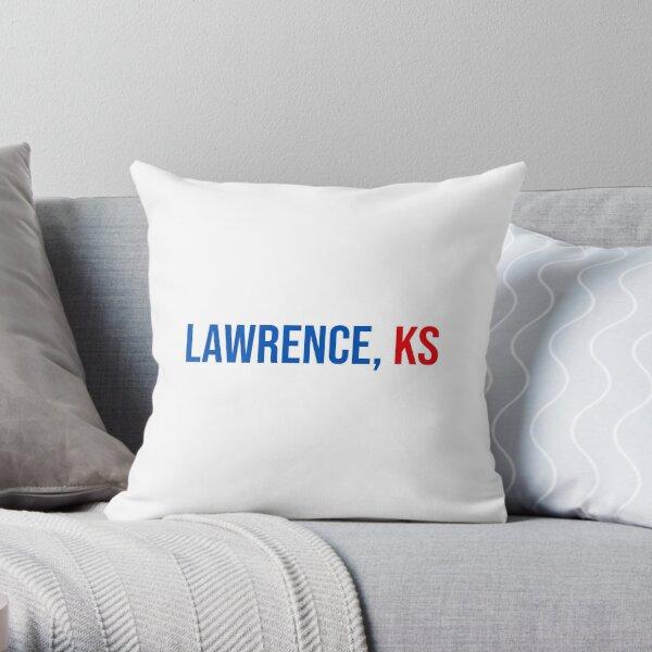 Lawrence Kansas Throw Pillow