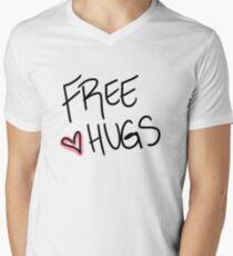 Hugs are great.  Men's V-Neck T-Shirt