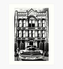 ROOMS FOR RENT Art Print