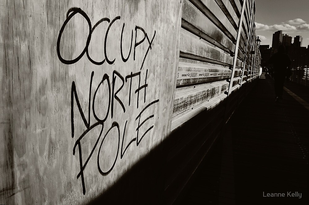 Occupy North Pole by Leanne Kelly