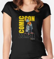 Comic-Con Zombie Women's Fitted Scoop T-Shirt