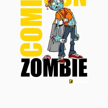 Comic-Con Zombie by GeekFilter