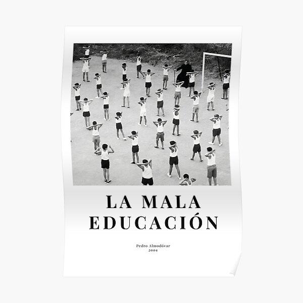 La Mala Educación - Bad Education (2004) - Cartel de película minimalista - Pedro Almodóvar Póster