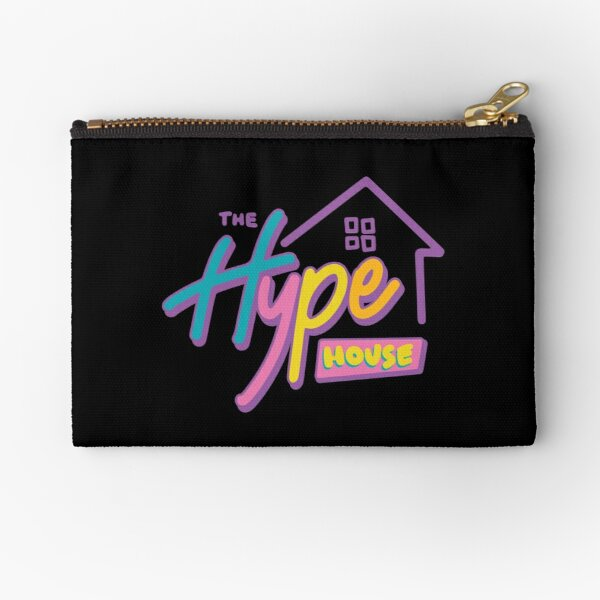The Hype House Logo  Zipper Pouch