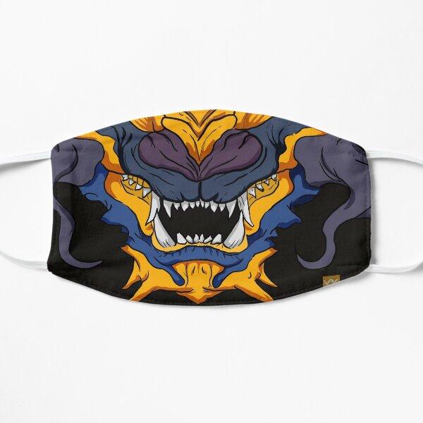 Japanese Folklore Gold Dragon Face Mask Mask