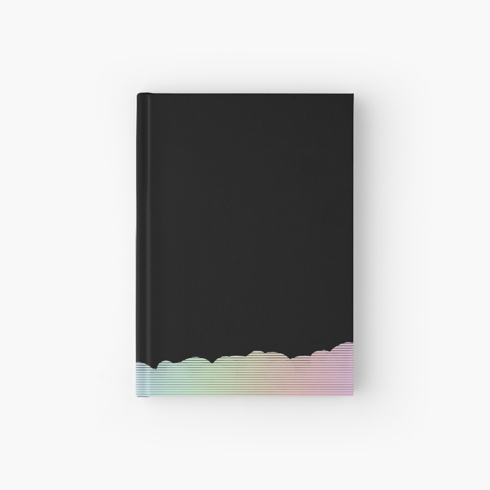Simple line detail Hardcover Journal