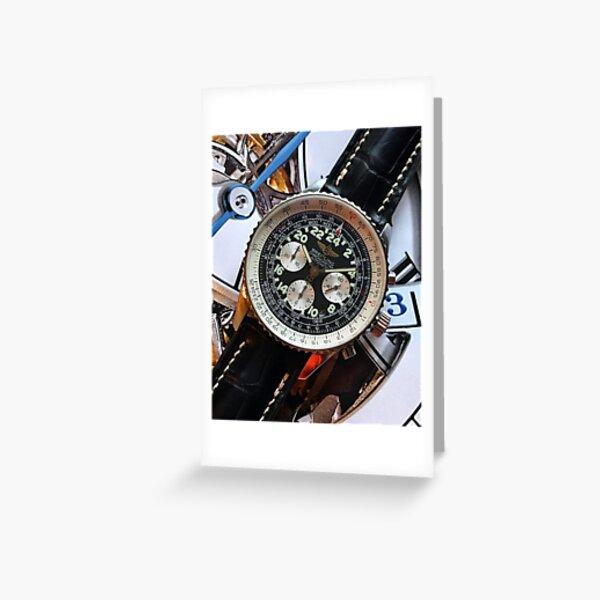 Breitling Cosmonaute Greeting Card